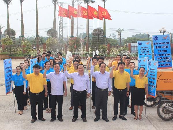 Quảng Trị: Ra quân phát triển người tham gia BHXH tự nguyện