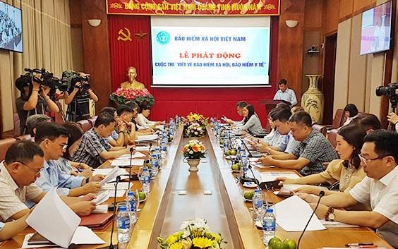 """BHXH Việt Nam phát động cuộc thi """"Viết về BHXH, BHYT"""""""