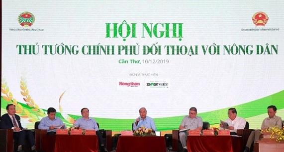 Hội nghị đối thoại giữa Thủ tướng Chính phủ với nông dân