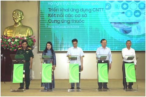 Triển khai ứng dụng CNTT kết nối các cơ sở bán thuốc trên toàn quốc