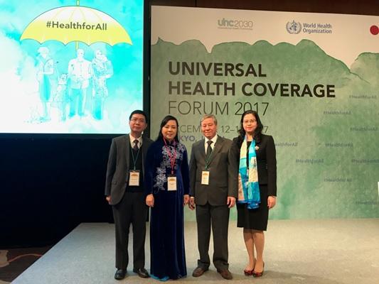 Bảo hiểm xã hội Việt Nam tham dự Diễn đàn bao phủ y tế toàn cầu năm 2017 tại Nhật Bản